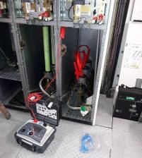 Maintenance poste Haute tension 5