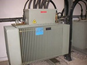 Maintenance poste Haute tension 3